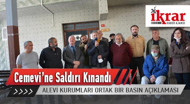 Alevi Kurumları Ortak bir Basın Açıklamasıyla Grup Yorum Üyesi İbrahim Gökçek'in Cenazesi Sırasında Yapılan Müdahaleyi Kınadı