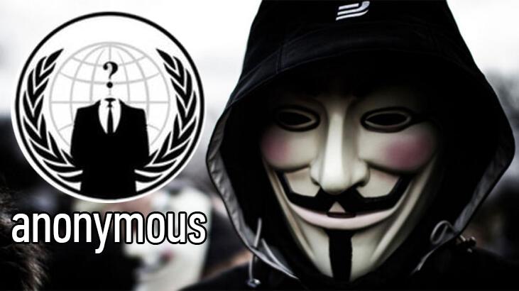 Anonymous'tan Siber Saldırı