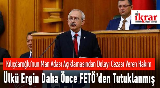 Hakim Ülkü Ergin FETÖ den Daha Önceden Tutuklanmış…
