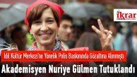 Akademisyen Nuriye Gülmen Tutklandı