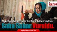 Afganistan'ın tanınmış yapımcılarından ve ilk kadın yönetmeni Saba Sahar vuruldu.