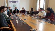 ABF ve PSAKD'den Demokrasi Nöbeti'ne Destek Ziyareti