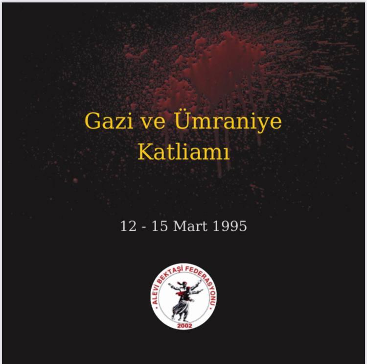 """Alevi Bektaşi Federasyonu'ndan Gazi Katliamı Anması: """"Bu duruş bize Kerbela'dan Miras"""""""
