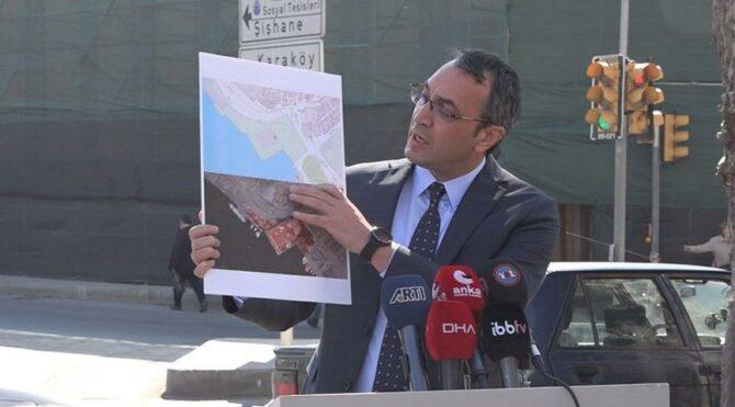 """İBB'den Mahir Polat: """"Tarihi binaya kefen mi biçtiniz, tabut mu?"""""""