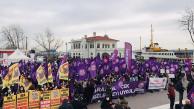 """Kadınlar Türkiye'nin dört bir yanında tek ses oldular """"İstanbul Sözleşmesi Yaşatır"""""""