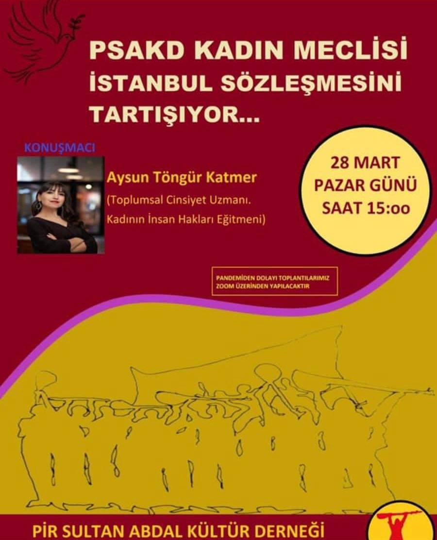 """PSAKD Kadın Meclisi """"İstanbul Sözleşmesi"""" ile yola başlıyor…"""
