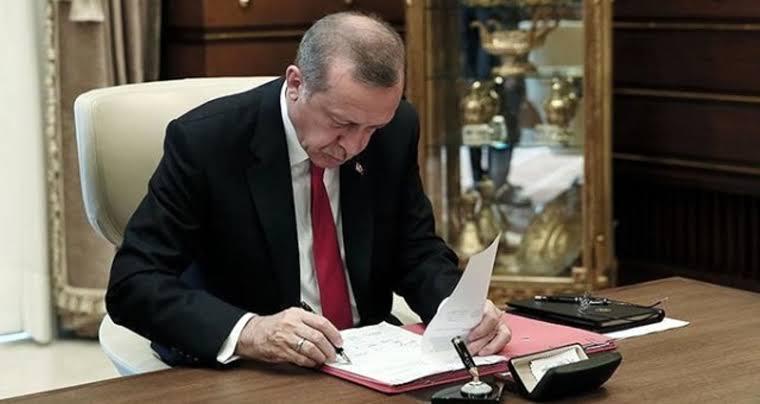 Erdoğan kendini Kurul Başkanı olarak atadı