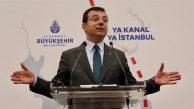 İmamoğlu: Kanal İstanbul projesinin peşinde koşanlar, gelecekte af dileme ile kurtulamayacaklar