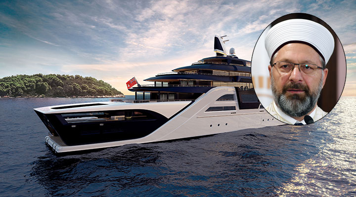 Bak sen bu Diyanet'e… Günlüğü 35 Bin TL'lik teknede Ramazan