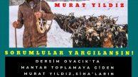 DEDEF'ten SİHA ile öldürülen Murat Yıldız için açıklama
