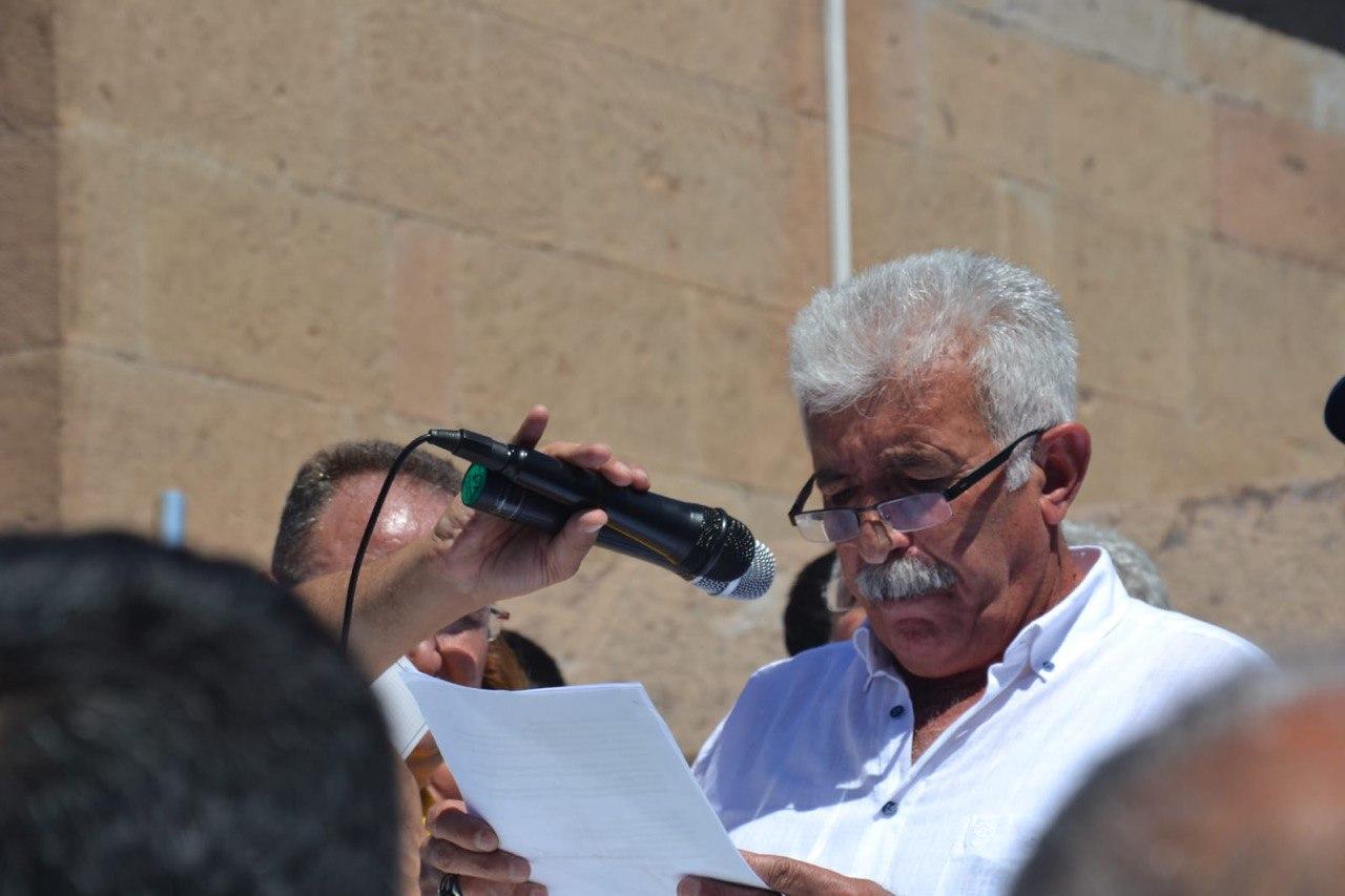 """Pir Güzelgül: """"Dersim'de bir tarih yatar. Katliamla yok edilmeye çalışılan bir toplumun tarihi!"""""""