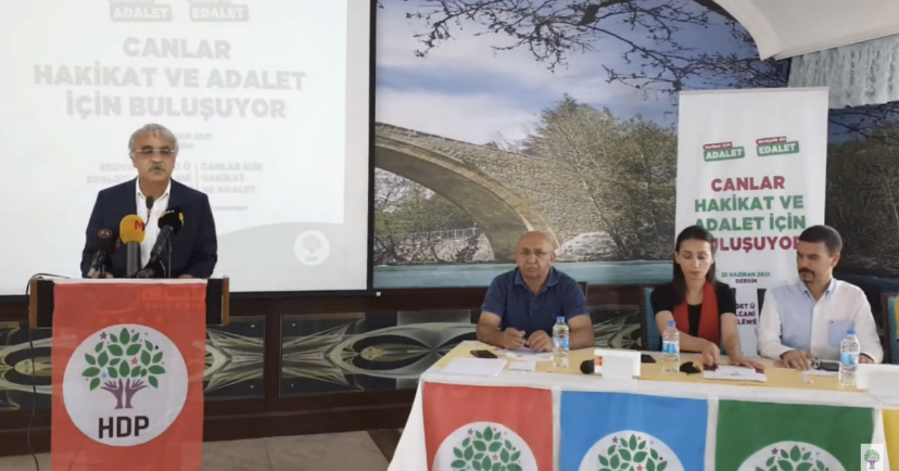 Mithat Sancar: Dersim'den haykırıyoruz! Teslim Olmayacağızi