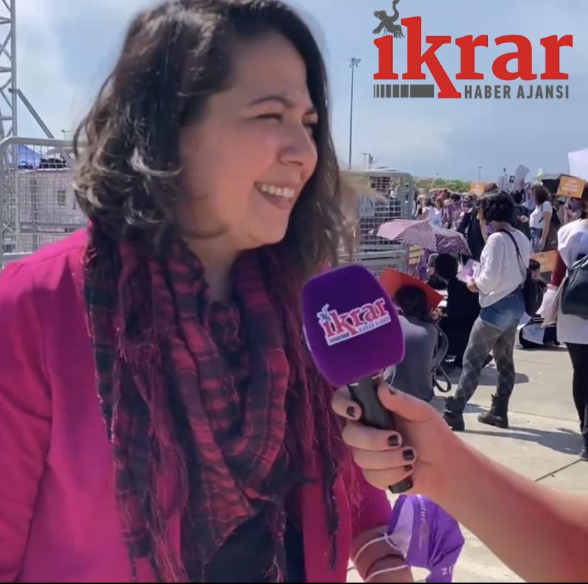 """CHP'li Sera Kadıgil: """"Bu karanlık gidecek, Kadınlar Kazanacak"""""""