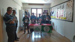 HDP'ye yapılan saldırı Erzincan'da protesto edildi