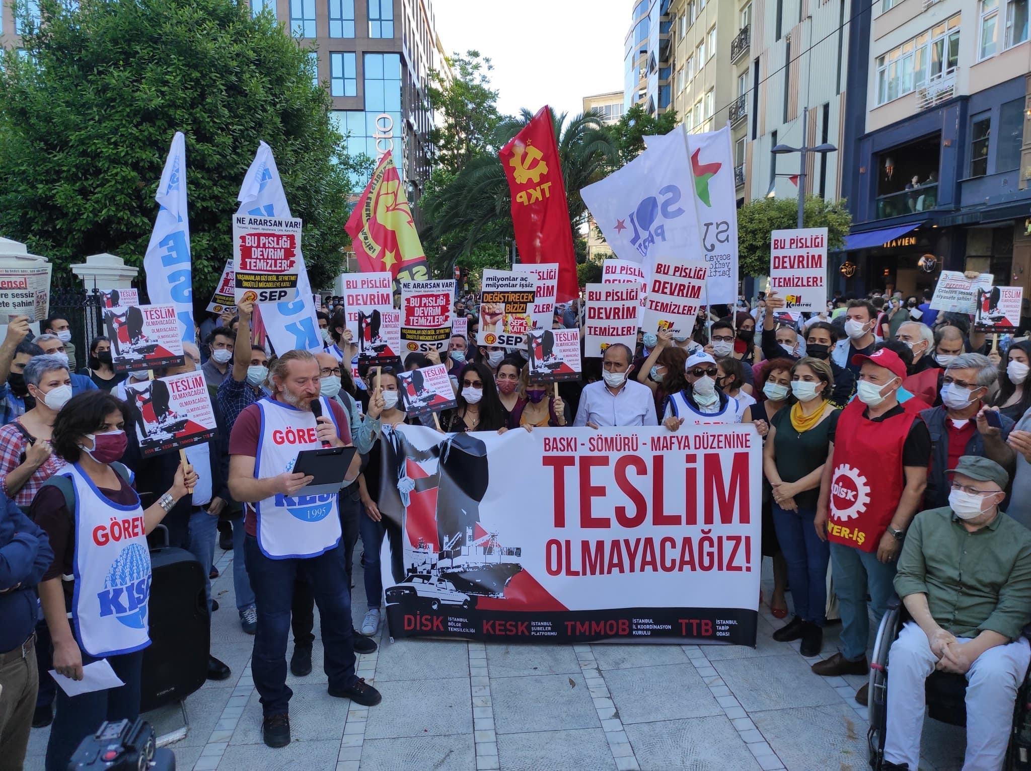 """DİSK, KESK, TMMOB, TTB: """"Hükümeti istifaya çağırıyoruz"""""""
