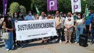 """Adana'da """"HDP Yalnız Değildir"""" Eylemi"""