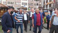 """Dersim Belediye Başkanı Maçoğlu Fındıklı'da: """"Bunlar karadenize güzellik diye bakmazlar"""""""