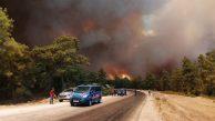 Osmaniye'de ki orman yangını ile ilgili 5 kişi gözaltına alındı