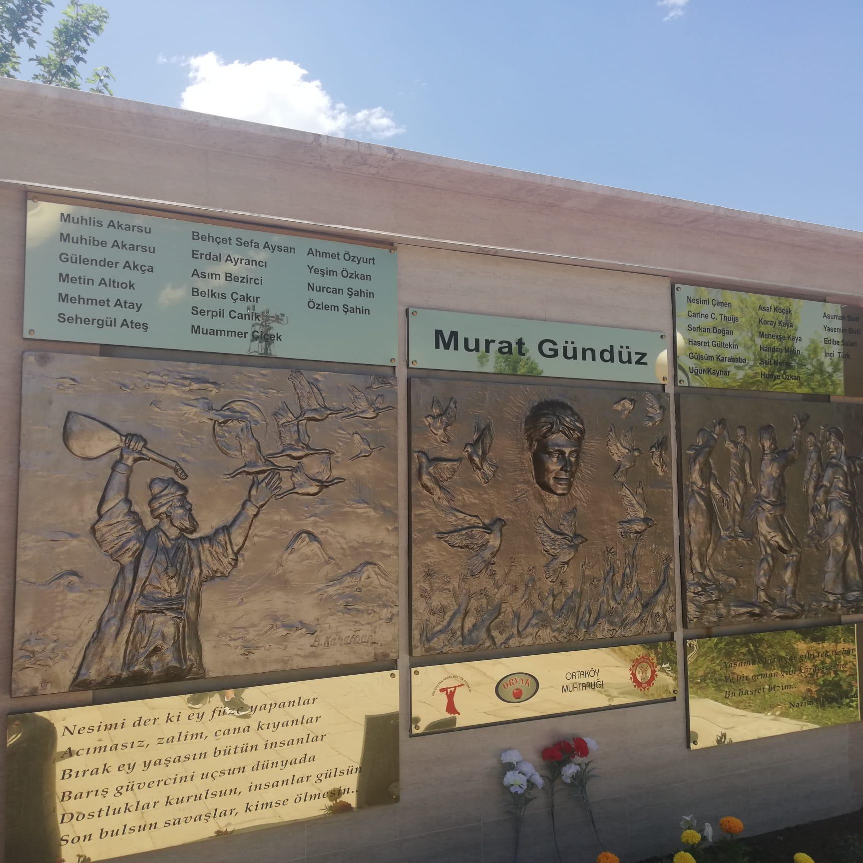 2 Temmuz Şehitlerinden Murat Gündüz için Anıt Meydan açıldı
