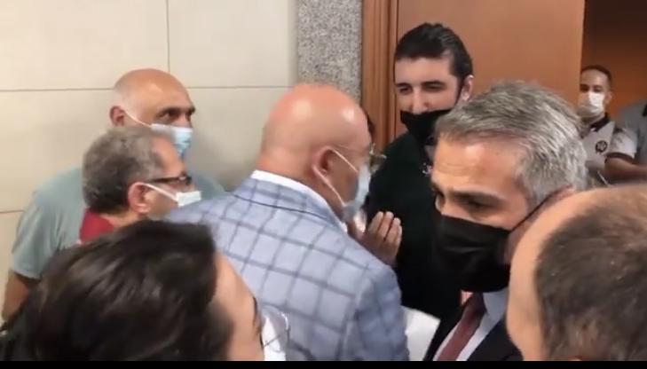 Cumartesi Anneleri Yargılanıyor… CHP'li Mahmut Tanal salona alınmadı