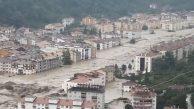 Kastamonu'da baraj patladı… Koca kent sular altında kaldı