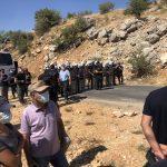 SON DAKİKA: Dersim'de yangına müdahale etmek isteyenlere polis engeli