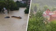 Sinop sele teslim oldu… Felaket kameralara yansıdı