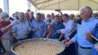 Serçeşme Hünkar Hacı Bektaş Veli Festivali'nde Aşure pay edildi