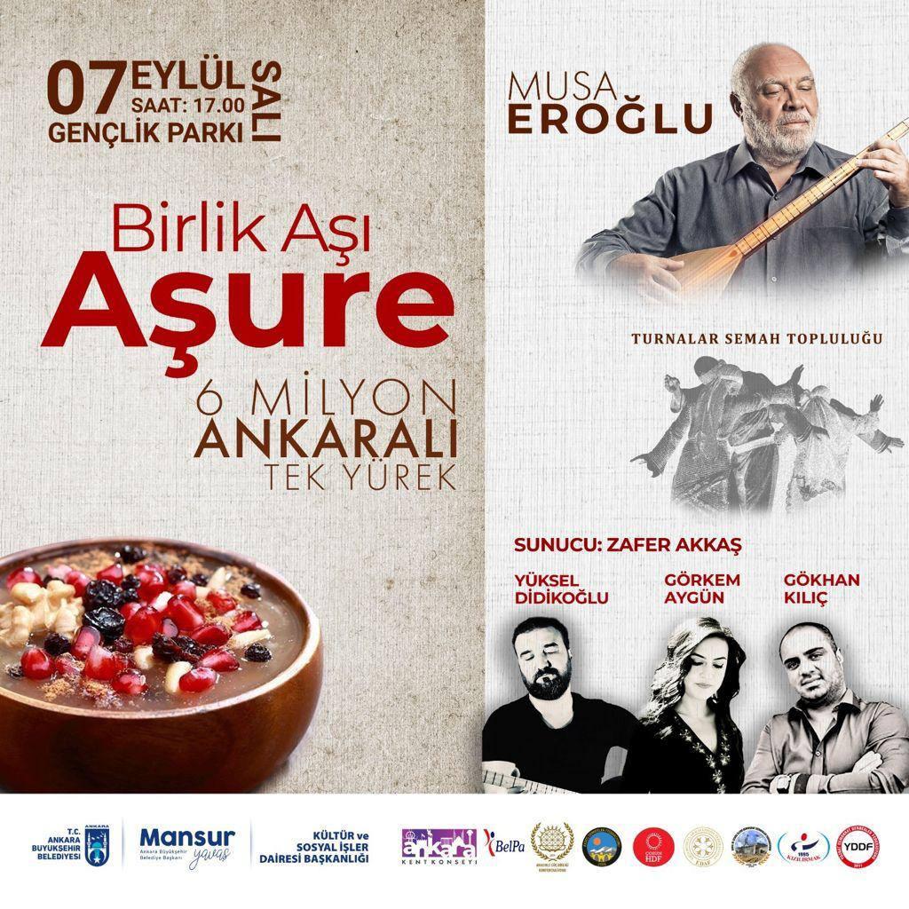 Ankara Büyükşehir Belediyesi Aşure Lokması kaynatacak