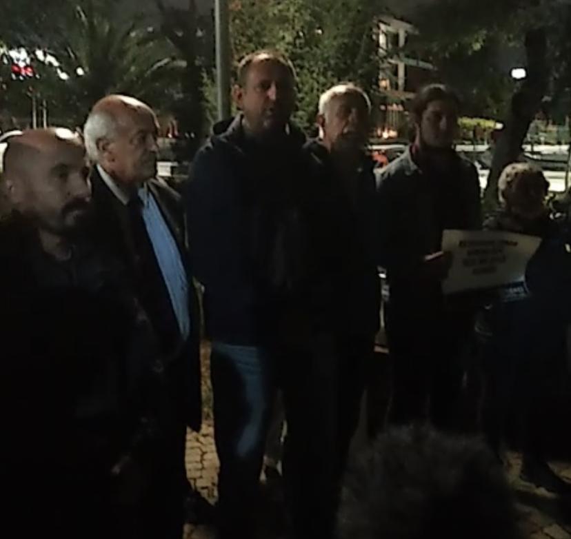 """PSAKD İstanbul Şubelerinden """"Barınamıyoruz"""" Eylemcisi öğrencilere ziyaret"""