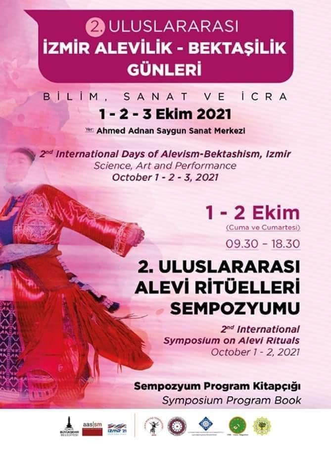 """İzmir """"Alevilik – Bektaşilik Günleri"""" Ekim'de başlıyor"""