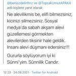 Sosyal Medyadan Alevilere hakaret eden kişiyle ilgili Pir Celal Fırat'tan tepki