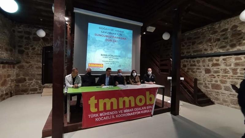 """TMMOB'den Sungurlu Barajı açıklaması; """"Doğayı talan edecek"""""""