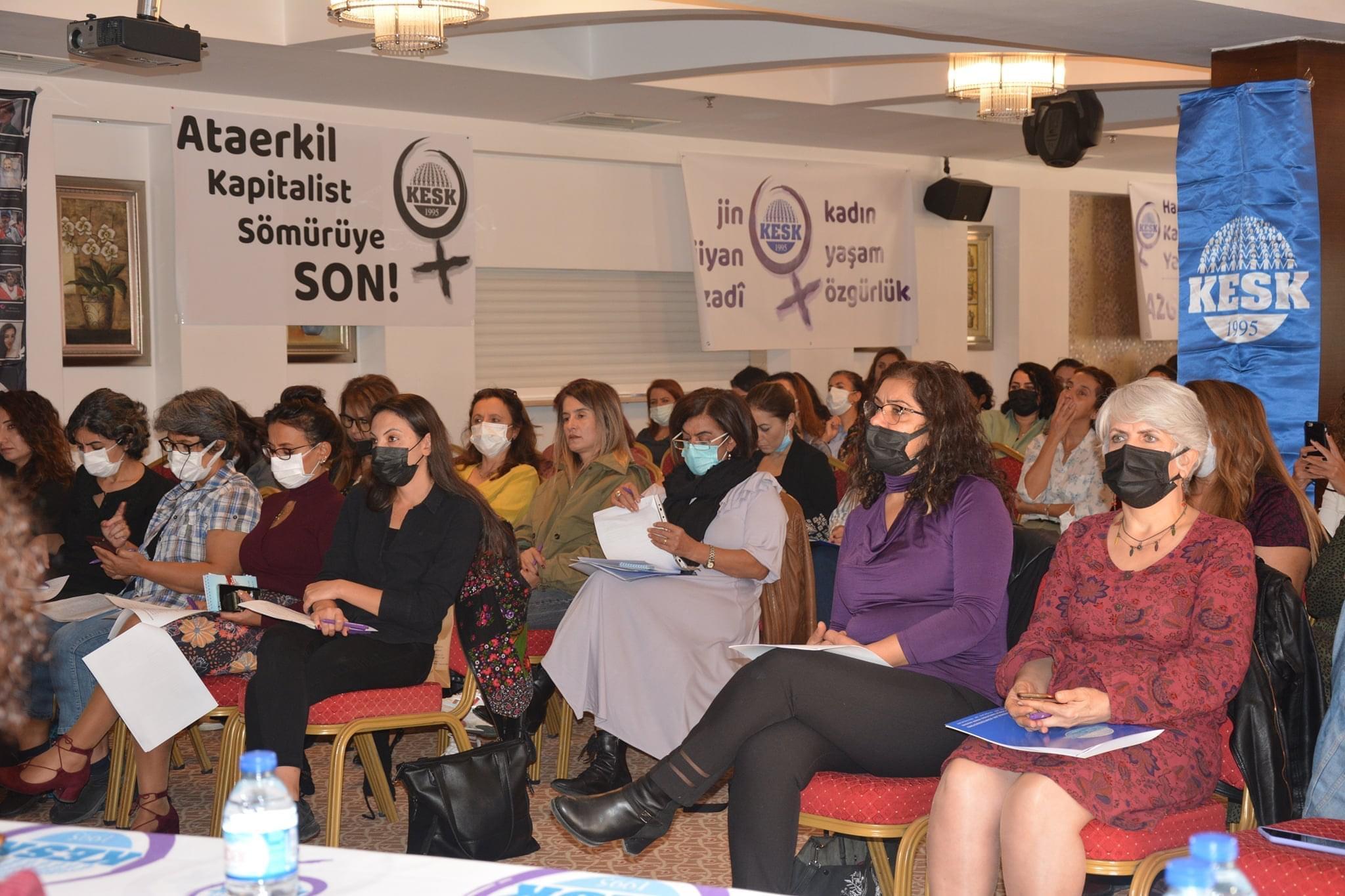 KESK Kadın Meclisi toplantıları devam ediyor
