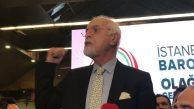 Av. Mehmet Durakoğlu yeniden İstanbul Barosu Başkanı seçildi