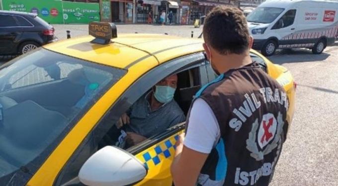 İstanbul'da büyük taksi operasyonu; kısa mesafede sorun çıkaran araçlar bağlandı